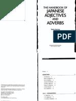 [Taeko Kamiya] the Handbook of Japanese Adjectives