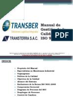 Manual de Gestión de Calidad - Transber.ppt
