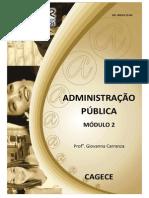Administração Pública - Módulo 02