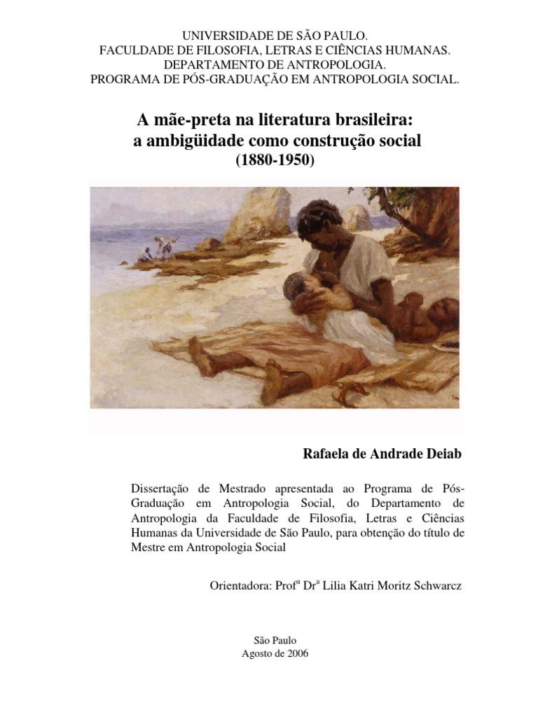 1d3f7ca849c Mae Preta Na Literatura