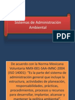Sistemas Administracion Ambiental