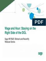 Wage Hour Dol