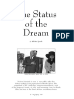 Mandela and the Status of the Dream - 1999