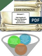 PPT sosiologi ekonomi politik dan ekonomi