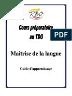Cours Complet Francais
