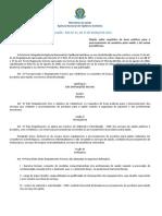 RDC Nº 15, DE 15 DE MARÇO DE 2012 (Requisitos de Boas Práticas para o Processamento de Produtos para Saúde)