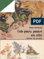 Cele patru păsări ale zilei de Florin Costinescu, ilustratii Octavia Taralunga