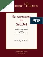 Net Assess for SecDef