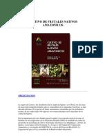 Cultivo de Frutales Nativos Amazonicos
