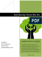 Introducing Green Bin, Inc.