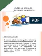 Accidentes La Borales Indemnizaciones y Castigos