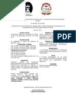 Convocatoria Municipal de Ajedrez Ezequiel 2013