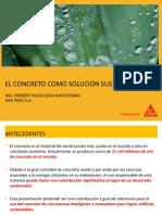 1. Elaboración de Concreto Sustentable