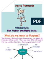 English Writing to Persuade
