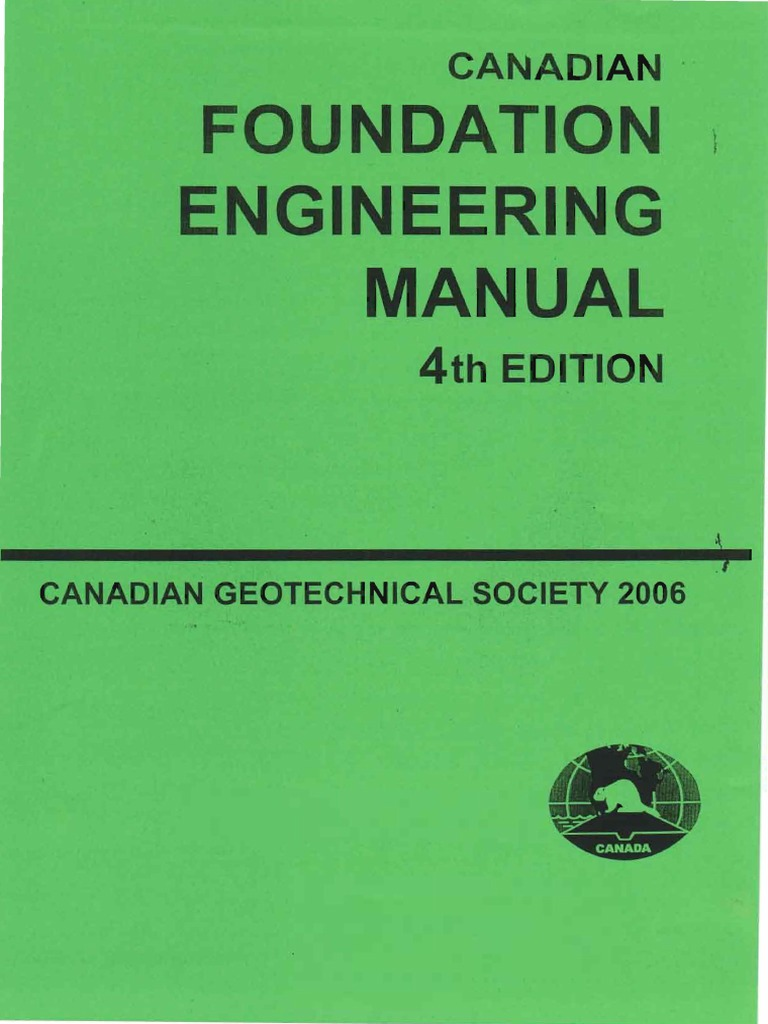Canadian foundation engineering manual 4th deep foundation civil canadian foundation engineering manual 4th deep foundation civil engineering fandeluxe Images