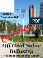 Off Grid Solar Industry - A Market Intelligence Guide