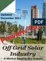 Off Grid Solar Industry - A Market Intelligence Guide