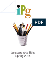 Spring 2014 IPG Language Arts Titles