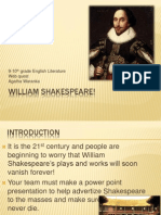william shakespeare webquest