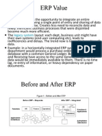 ERP Benefits and Risk