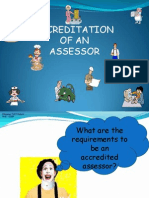 Accreditation of Assessors