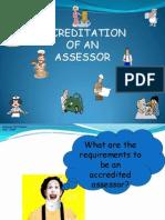Accreditation of Assessors