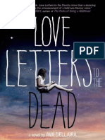 LOVE LETTERS TO THE DEAD by Ava Dellaira, Letters 1-4