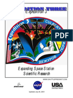 NASA ISS Expedition 3 Press Kit