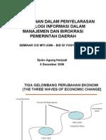 Presentasi Djoko Agung Harijadi