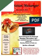 December 8 Newsletter