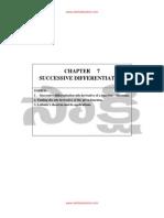 07 01 Successive Differentiation 1