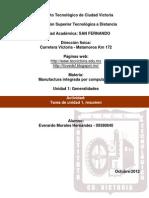 Manufactura Integrada Por Comp. (U1 Actividad - Tarea de Unidad 1)