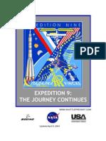 NASA ISS Expedition 9 Press Kit