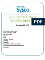 Weekly Market Trends Report 11.29.13