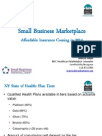 Manhattan Chamber of Commerce Healthcare Marketplace Presentation