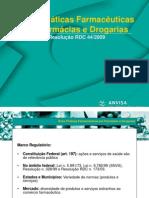 Farmácias e drogarias - RDC 44