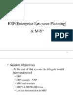 ERP & MRP