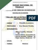 Fallas en La Estructura Del Capitalismo
