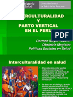 Interculturalidad y Parto Vertical