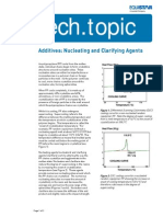 Nucleating and Clarifying Agents
