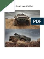 Meet the US Army's hybrid hellion