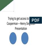 Leon Cooperman – Henry Singleton