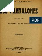 Los Pantalones Obra Original