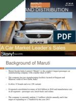 Maruti sales process