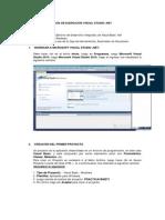 Guia de Ejercicios Visual Studio .Net
