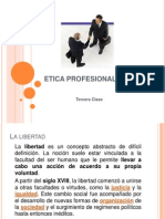 Etica Profesional - Tercera Clase