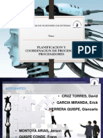 Planificación y Coordinación de Procesos y Procesadores ppts