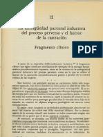 La ambigüedad parental inductora del proceso perverso y el horror de la castración. Joël Dor