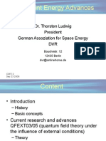 ADVANCEMENTS IN ZERO POINT ENERGY RESEARCH, with Thorsten Ludwig, Ph.D.