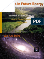 FUTURE ENERGY TECHNOLOGIES, with Thomas Valone, Ph.D.